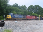 K223 in the Yard with CSXT 441 & CP 8541!