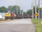 K223 crossing Fenwick & 7th Street with CP 8541 2nd Unit