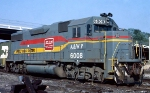 Atlanta & West Point GP38-2 #6008, serving as power for the Opelika Switch Engine,