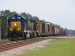 A773 with CSXT 8057 leading