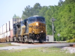 CSXT 5305 coming into town with a Southbound Intermodal
