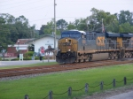 "CSXT 5300 Leads a Southbound ""Hot"" Intermodal"