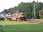 "CSXT 159 leads a Northbound ""Hot"" Intermodal"