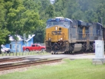 CSXT 873 leads a SB OUCX loaded Florida Coal Train