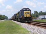 A Nice Wave from the Engineer onboard CSXT 8532