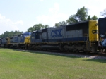 Rear View of CSXT 4679
