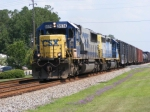 "CSXT 8574 leads A773 ""The Rocket"""