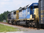 CSXT 8206 trailing on A773