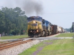 CSXT 7772 smokin it up!