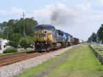 CSXT 7772 with a Awesome Consist!