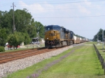 "CSXT 5313 leads a Northbound ""Hot"" Intermodal"
