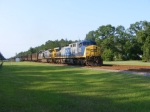 A Nice Wave from the Engineer on CSXT 378