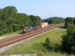 CSXT 5211 with a Southbound Intermodal