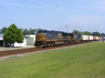 "CSXT 5439 leads a Southbound ""Hot"" Intermodal Train"