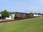 "CSXT 5439 leads a Southbound ""Hot"" Intermodal Train"