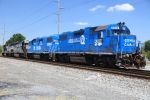 NS 5304 & 5300 resplendent in Conrail blue on a beautiful afternoon