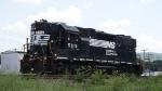 NS GP38-2 5115 on the D&H main in Binghamton NY