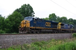 CSX 5225 is on Q-702 heading east bound