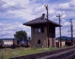 Tower in Conklin yard