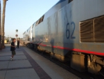 158 & 62 is the power for the southwest chief on this wonderful night