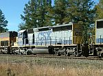CSX 8078 on train Q614