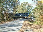 CSX 523 leads a coal train
