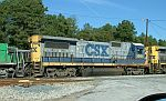 CSX 5944 in the yard
