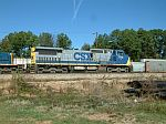 CSX 7714 in the yard