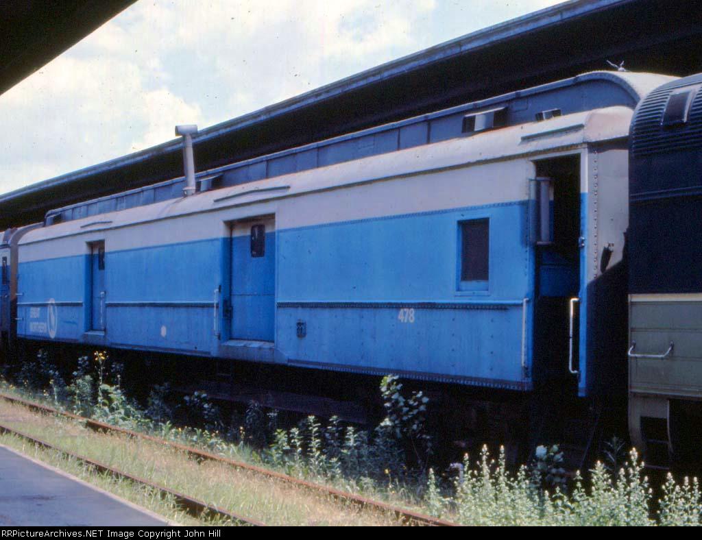 1001-28a GN 478 at St. Paul Union Depot (SPUD)