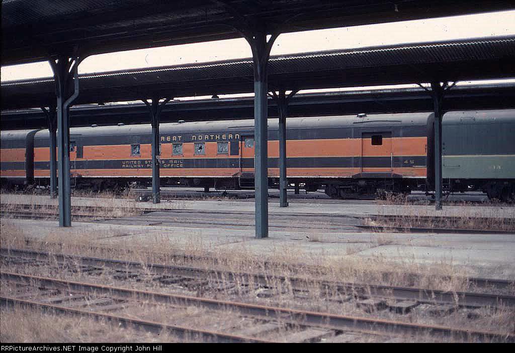 1040-29 GN 45 in St. Paul Union Depot (SPUD)