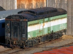 091107014 Heater Car GN 16 (MNTX 16) at MTM Jackson St. Roundhouse