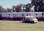 1002-A2-035 AFT 100 with American Freedom Train on display at Minnehaha Park