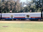 1002-A2-039 AFT 104 with American Freedom Train on display at Minnehaha Park