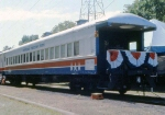 1002-A2-053 AFT 205 with American Freedom Train on display at Minnehaha Park