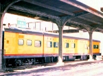 """1005-16a MILW business car [1st] """"Milwaukee"""" in Mpls GN Depot"""