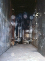 1160-16 Steam heater car GN 8 at ex-NP Como Shops