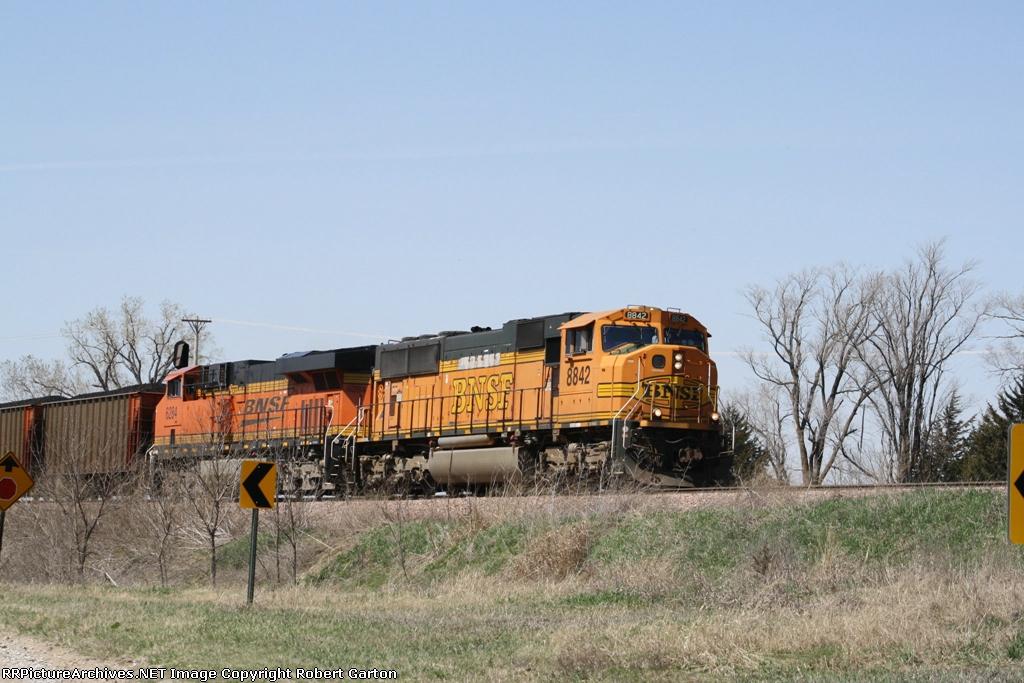 Unit Coal Train Making its Way East