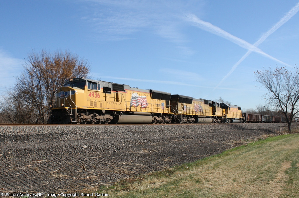 Local Freight on its way to Columbus
