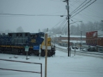 csx 366 in the snow
