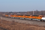 5 New Locomotives For BNSF