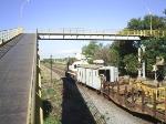 EFVM 531 com trem de manutencao