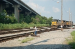 Throwing Switch at CSX Gentilly Yard