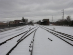 Bound Brook Station Winter