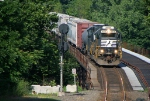NS GP59 Leads Local On CNJ Bridge