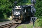 GP59 Led H65 Entering Washington Secondary at CP PHILLIPSBURG