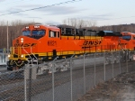 BNSF 6621 with BNSF 7266 in tow roll into the BNSF La Crosse yard on their first revenue run Z-CHI-PTL