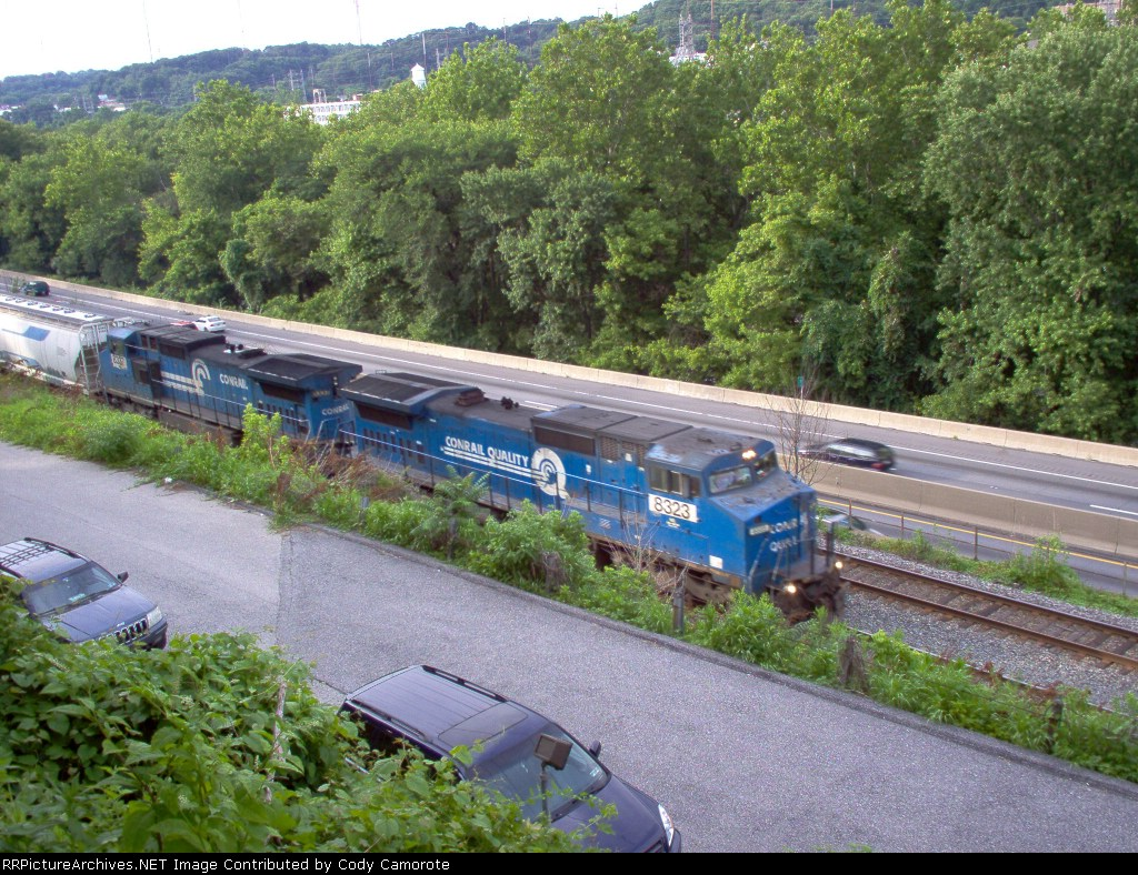 NS 8323 and 8337 on 38-G