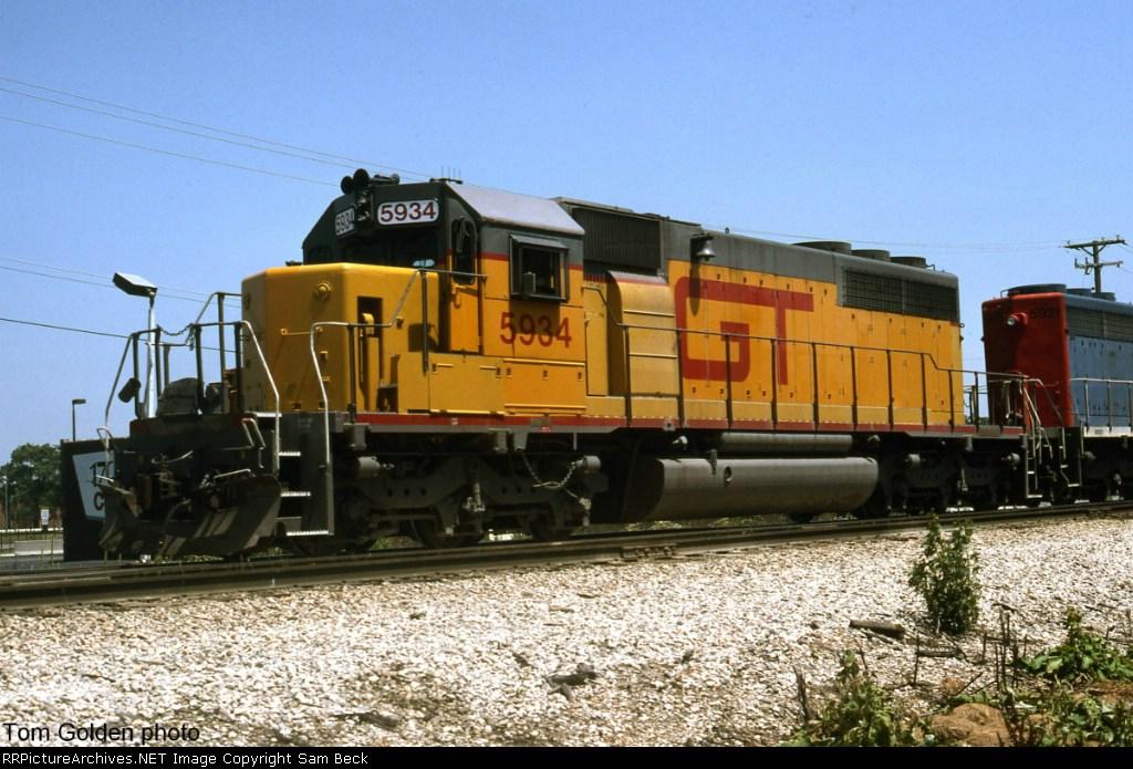 GTW 5934--Ex Union Pacific SD40-2