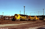 ATSF 3544 and 3051 at Barr