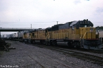 MoPacs Innaugural Yard Center Intermodal Train